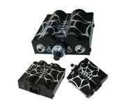 Wholesale Spider Body - Tattoo power supply New pro Spider Web Double Wave Tattoo Power Supply Power Plug Supply tattoo & body art