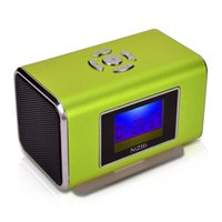 Wholesale-sechs verschiedenen Farb portable Stereo-Mini Speakerdigital speakerSound boxUSB / MP3-Player + microsd / tf TT6