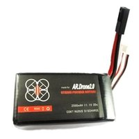 Wholesale Parrot Ar Drone Upgrade Battery - Parrot AR Drone 2.0 2500mAh 11.1V 20C Li-po Upgrade Powerful Battery HM010