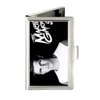 Wholesale Dj Cover - MARTIN GARRIX DJ PRODUCE Custom Design Unique Business Card Holder Pocket Wallet Name ID Credit Case Stainless Steel Box Case