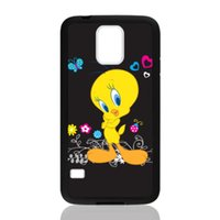 Wholesale S3 Case Bird - Tweety Bird In Love for samsung galaxy S3 S4 S5 S6 note2 note4 note3 hard plastic cell phone back cover case