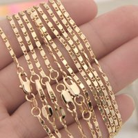 Wholesale Stylish Men Silver Chains - 10pcs lot New Fashion Necklaces Men Twisted Rope Chains Stylish Jewelry Accessories SH26*10