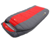 Wholesale Duck Down Filled Sleeping Bag - High quality duck down filling ultralarge two person 5500g 6000g comfortable camping down sleeping bag