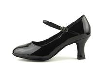 Wholesale Hot Latin Shoes - Hot sale Brand Women's Modern Ballroom Latin Tango Dance Shoes heeled black Color WZJ