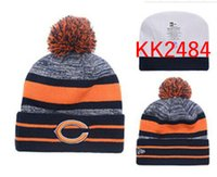 Wholesale Chicago Bear - 2018 Bears Beanies Winter High Quality Chicago Beanie Men Women Skull Caps Skullies Knit Cotton Hats Free Shipping