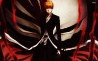 Wholesale Anime Figure Bleach - Free shipping,Anime Bleach Ichigo Kurosaki,Poster HD HOME WALL Decor Custom ART PRINT Silk Wallpaper unframed -1529