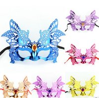 Wholesale Sexy Animal Halloween Costumes - Women Sexy Eye Mask Party Masks For Masquerade Halloween Venetian Costumes