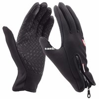 Wholesale Winter Running Gloves - Winter sport wind stopper waterproof ski gloves warm riding glove Motorcycle gloves