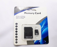 Wholesale Adapter Sd Mini - Hot 80pcs lot DHL 64GB 128GB Class 10 Micro SD TF Memory Card with SD mini GIFT Adapter Retail Package Flash SD SDHC Cards NEW cocoshop856