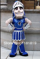 Wholesale Mascot Knight - MASCOT Spartan trojan knight mascot costume custom fancy costume cosplay mascotte fancy dress carnival costume