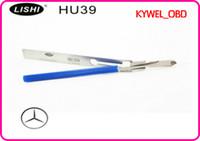 Wholesale Genuine Lishi - LISHI 4 Track Pick HU39 Genuine Lishi Pick forMercedes,LISHI HU39 For Mercedes Benz old model free shipping