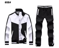 Wholesale Horse Print Pants - High Men's Hoodies and Sweatshirts Sportswear Man Polo Jacket pants Jogging Jogger Sets Turtleneck Sports Big horse Tracksuits Sweat Suits