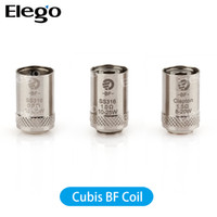 Wholesale Ego Replacement - Joyetech Cubis Coil Cubis Notch Coil Coil 0.15 0.25 0.5 1.0 1.5ohm Authentic Replacement Coil for Cubis Tank& eGO AIO Coil &Cuboid Mini Coil