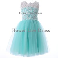 Wholesale Communion Dresses Size 14 - 2017 New Sale Freeshipping Button First Communion Dresses Elegant Flower Girl Dress Kids Pageant Party Gown Child Size 2-14