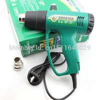 Wholesale Thermostat Gun - New Industrial Grade Digital Thermostat 2000W Hot Air Gun Blow Heat Guns and Long Life Time RFQ503 with Free Shipping order<$18no track