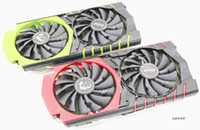 Wholesale graphics card 4g resale online - New Original for MSI GTX970 GAMING G GTX970 GAMING G100E Edition graphics card fan with heat sink