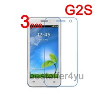 Wholesale G2s Screen - Wholesale-3pcs Anti-scratch CLEAR LCD JY-G2S JIAYU G2S Screen Protector Guard Cover Film For JY-G2S JIAYU G2S Protective Film + Cloth