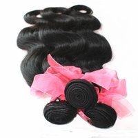 Hot selling 7A Unprocessed Brazilian Malaysian Indian Peruvian Hair Weave 10-18 inch Natural Color Body Wave 1bundle lot 100% Human Hair Weft Extension