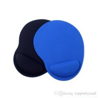 Wholesale Trackball Cable - High Quality Durable Mouse Pad Thin Comfort Wrist Mat Mice Pad For Optical Trackball Mouse SHM A3*