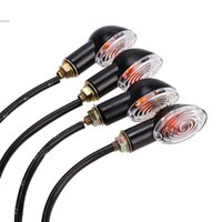Wholesale New Arrival Motorcycle Accessories Bike Universal LED Turn Signal Blinker Indicator Light Amber