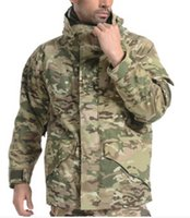 Wholesale Multicam Free - Fall-US ARMY ECWCS PARKA,multicam camouflage 2 in 1 jacket,men winter parka +free shipping