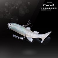 Wholesale Cool Fishing Lures - Seoul cool excellent fishing gear from the Long Road sub-bait 60mm 6g luminous pack double hook lead fish bait bionic Lure