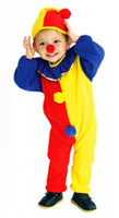 Wholesale Costumes For Students - Kids Clown clothes Cosplay Clothing Performance Stage Thin clothes for kindergarten students in Children's day Cartoon clothes GN C011