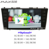 Wholesale Toyota Camry Dvd Player - Android 6.0 Car DVD Player for Toyota Camry 40 2006 2007 2008 2009 2010 2011 with Radio BT 4G WIFI SWC GPS