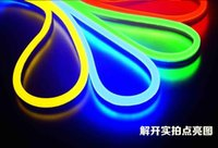 Wholesale New LED Neon Sign LED Flex Rope Light PVC LED Light LED Strips LED Flex Tube Bar Pub Christmas Party Hotel KTV Decor Light V