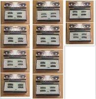 Wholesale D H Wholesalers - Magnetic False Eye Lashes H D Full Strip Lashes Easy to wear Extensions handmade Lashes Voluminous 3D Magnetic Eyelash