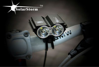 Wholesale Cycle Light Led Cree 2x - 5000Lm 2x CREE XM-L U2 LED Cycling Front Bicycle Bike Light HeadLight Headlamp With 8.4V Battery Pack + Charger