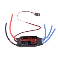 Wholesale helicopter speed controller online - MR RC A Brushless ESC Speed Controller For DJI Flame Wheel F450 Align TREX Helicopter FPV Multicopter Qudcopter Part order lt no track