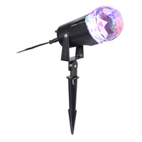 Wholesale Christmas Lightings - Waterproof Magical Spotlight Rotating Led Projector Light with Flame Lightings for Indoor Outdoor Christmas Festival Decorations for Home