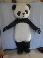 Wholesale Cute Advertising Mascots - advertising mascot SUPER CUTE GIANT PANDA MASCOT COSTUMES High quality Animal mascot customized carnival mascot costumes