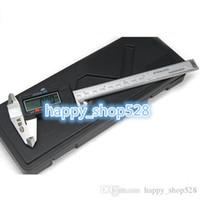 "Wholesale Caliper Rule - 150mm 6"" Stainless Steel Precision LCD Micrometer Electronic Digital Vernier Caliper Slide Calliper Rule Measuring Gauge Tools"