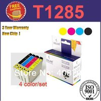 Wholesale Ink Cartridge T1285 color set T1281 T1282 T1283 T1284 for Epson Stylus SX130 S22 SX225 SX425W SX435W SX445W Printer