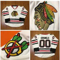 Wholesale Xl Hockey Jersey Chicago - 2016 Chicago Blackhawks Hockey Jersey #00 Clark Griswold Jersey Stadium Series White Stitched hockey jersey Free Shipping