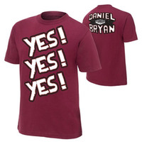 Wholesale Wrestling Shirts - Wholesale-Black Friday 2015 TV show famous Brand man T Shirts Of United States Entertainment Wrestling Superstar Bryan Men T-shirt