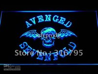 Wholesale Neon Sign Bands - c113-b Avenged Sevenfold Band Bar Logo Neon Light Sign