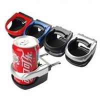 plastic cup holders for cars 도매-실용적인 플라스틱 스토리지 홀더 자동차 컵 스탠드에 대 한 4 가지 색상 공기 아울렛 차량 음료 랙 고품질 2 1js B