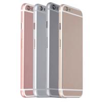 iphone back housing оптовых-AAA корпус крышка батарейного отсека задняя дверь для IPhone 6G 4.7