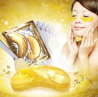 Wholesale Collagen Mask For Eyes - Gold Crystal Collagen Eye Mask Hotsale Eye Patches For the Anti-Wrinkle Remove Black Eye Face Care
