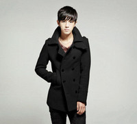 Cheap Mens Pea Coat With Hood | Free Shipping Mens Pea Coat With ...