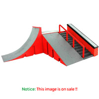 Wholesale Park Playing - Wholesale-New Skill Deck Skate Park Ramp Parts Play Prop for Cool Fingerboard Finger Board with Multi Scene Come with Fingerboard