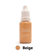 Wholesale Micro Pigments - Wholesale- Won't Fade Professional Tattoo Ink Microblading Permanent Makeup Micro Pigment for Eyebrow Lip Eyeliner 1 2 oz 15ML Beige 1Piece
