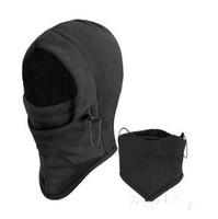 Wholesale thermal face - new arrival Thermal Fleece Ski Bike Wind Winter Stopper Face Mask Winter Outdoor Warm Mask high quality free shipping
