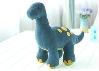Wholesale Soft Toys Patterns Free - Free Shipping large dinosaur stuffed animal pattern Soft Plush Animal Kids Toys 40-49 CM