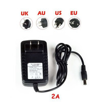 Wholesale High Power Camera - Wholesale-High quality AC 110v 220v EU US DC 12V 2A Power Supply Charger Adaptor Switching Power supply For LED Strip Light CCTV Camera