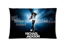 Wholesale Michael Jackson Pillowcase - Cool Pillowcase Michael Jackson Dancing Style Pillow Case (Twin Sides)(20x30 Inch)
