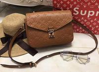 Wholesale Beautiful Thanksgiving - New Fashion Boston Bags women's Shoulder bag Leather handbags luxurious Brand Woman beautiful Bag